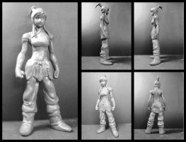 Korra wax sculpt by edsa-m