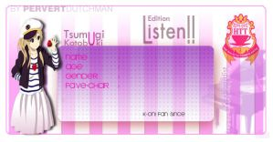 Listen Edition - Mugi by CielRz-Jr