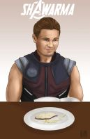 Hawkeye- Shawarma by Tobiassilverstreak
