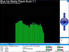 Blue Ice Media Player B. 7.1 by AppliArt
