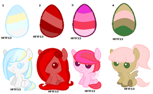 Free MLP Egg Adopts :CLOSED: by HopeForTheFuture13
