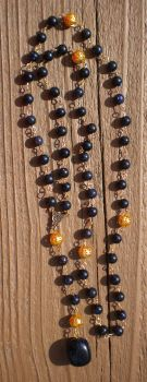 Questing Stone Rosary by Twilit-Guardian
