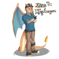 Day 7: Jeff Evergreen by reaper600