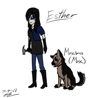 Esther and Max Concept by GingaAkam