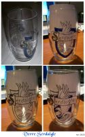 Ravenclaw glass by OliviaWinona