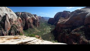 Angels Landing, Zion, Utah USA by Thrill-Seeker