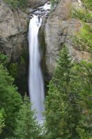 Yellowstone Tower Falls slow by swashbuckler