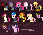 My Little Pony Windows Icons v4 by pikmin789