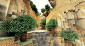 Minecraft - Un endroit paradisiaque... by AleksCube