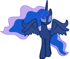 Luna - Serenity by EkkitaTheFilly