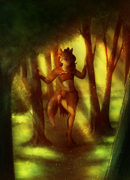 [ YCH AUCTION FINISHED ] Forest Princess by TheMarchef