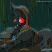 MLP: Under Rain by SrMario