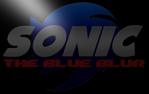 The Blue Blur logo! by JamesMuthfuknBristol