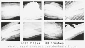 icon masks brushes by crazykira-resources