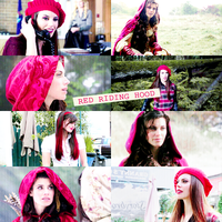 Picspam #4 -  Red Riding Hood / Ruby OUAT by kiki804