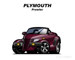 Chibi Plymouth Prowler by CGVickers