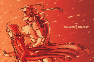 Print - FMA by SonicRocksMySocks