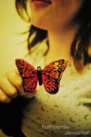 The butterfly of luck. by kathyxsmile