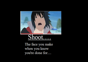 Sasuke Demotivational Poster by TeamShikaIno
