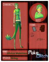 PokeGlitch Silvius by shade9412