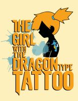 The Girl with the Dragon Type Tattoo by SiegKingKirby