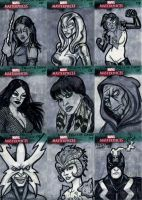 Marvel Sketch Cards-7 by feliciacano