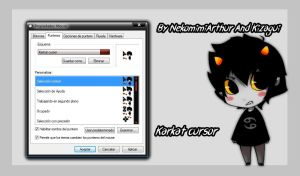 Karkat Cursor By NekomimiArthur And Kizagui by Nekomimiarthur