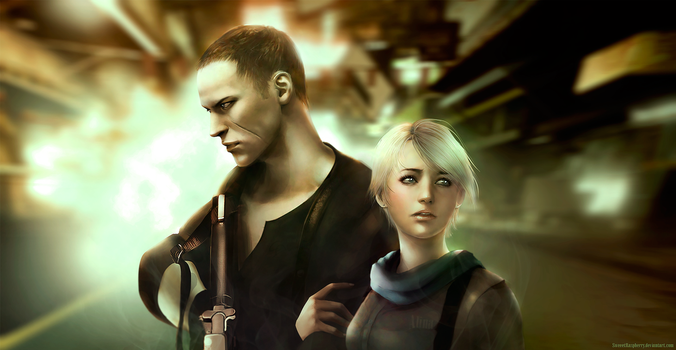Jake Muller and Sherry Birkin (Resident Evil 6) by SweeetRazzbery