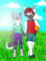 Commission: Ice and Alenko by Layla-Fox