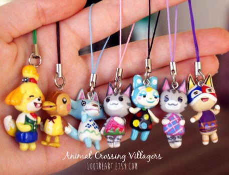 Animal crossing town meeting charms ! by unrealmelody