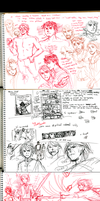 TP: Alanna Comic thumbnails by Minuiko