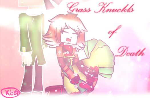 Grass knuckles of Death by luvi05