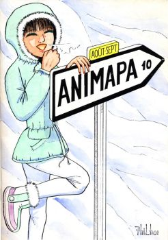 Animapa cover v.10 color by philho