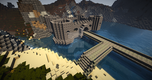 Early art SPECIAL!!! minecraft creation: Northfort by MBT808