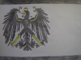 The Flag of Prussia by RavenHimitsu