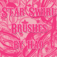 Star Swirl 2 Brushes by hao08