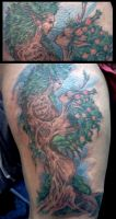 Tree Tattoo by ShannonRitchie