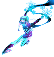 RC9GN: Ice rage- summer clothes of the Ninja by Washichan