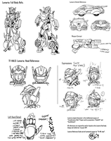 TFHalo Lumaria Reference Sheet by Th4rlDEAL