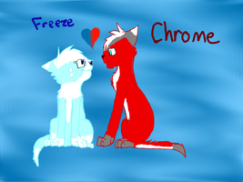 FreezeXChrome by Blue-Ink-Splatter