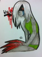 .:The Witch:Non-Scanned:. by ToxicVillain