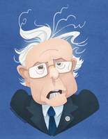Bernie Sanders 2016 by WonderDookie