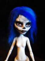 Skull Face Ghoulia by mourningwake-press