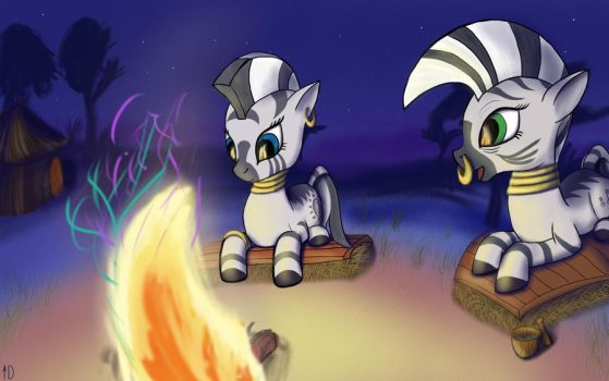 Zecora training - mystery of fire by iOVERD