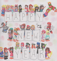 Happy New Year! by 4NN3D4NC3