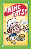 Anime Eats Cookbook Cover by KelliRoos