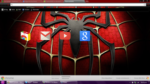 Spiderman Google Chrome theme by LiatLNS