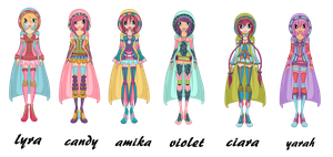 Summonix Special outfit's by WinxFandom