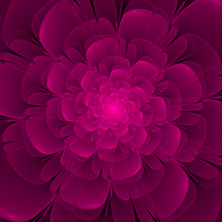 Flair - Fractal Art by CMWVisualArts