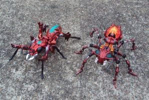 Fire Ants by Unicron9